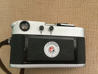 Leica M4 35mm Range Finder Film Camera with Leitz Summicron Lens 4