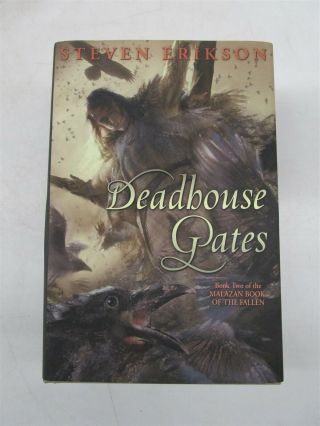 Steven Erikson Signed & Numbered Edition 15 Book Deadhouse Gates (malazan)