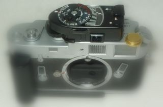 Leica Leitz Mr4 Mr Meter Black Chrome - Serviced Accurate