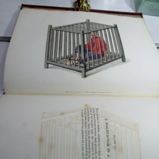 THE PUNISHMENTS OF CHINA/1804/RARE 1st Ed.  /22 HAND COLORED STIPPLE ENGRAVED PLTS 6