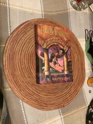 Signed,  J.  K.  Rowling,  Harry Potter And The Sorcerer's Stone,