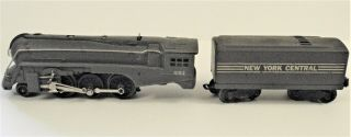 Vintage Lionel No.  221 Engine And York Central Coal Car / Tender No.  221w