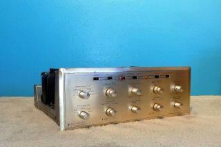 Hh Scott 272 Integrated Stereo Tube Amplifier Dynaural Dual Channel