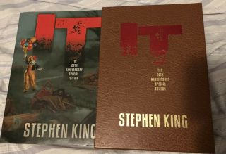 Stephen King It 25th Anniversary Special Gift Edition Cemetery Dance 2011 Oop