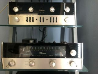 Mcintosh Ma 230 Tube Amplfier And Mr71 Tube Tuner Very.