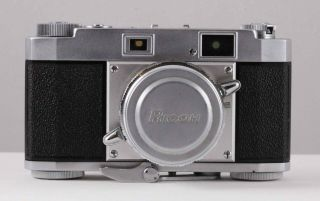 Ricoh 35 S Vintage Rangefinder 35mm Film Camera In Case With Instructions
