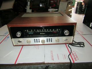 Vintage Mcintosh Mx 110 Tubed Stereophonic Tuner Preamplifier With Cabinet