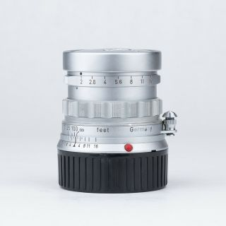 Leica Leitz Summicron 50mm F2 Rigid For M Mount (produced In 1958)