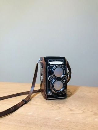 Rolleiflex Planar 2.  8f With Zeiss Planar Harry Fleenor