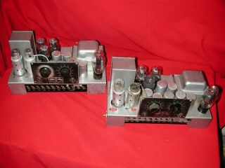 Rca Mi - 4283 42 Tube Early Theater Power Amplfiiers [pair]