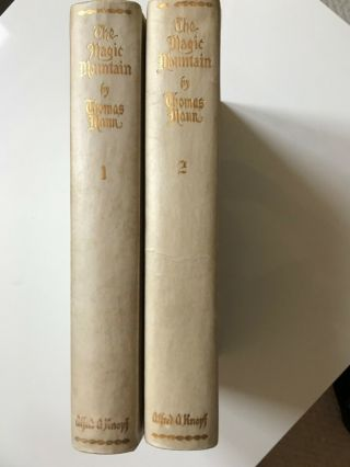 The Magic Mountain Thomas Mann Signed Limited First Edition 1st 1927 1/200