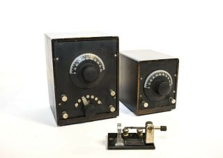 Rarest Crosleys Crosley Experimental Units: Condenso - Unit & Tuno - Unit & Crystal