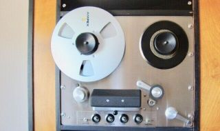 Ampex Custom Professional Reel To Reel Tape Recorder - Powers On
