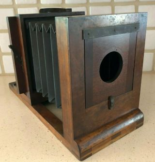 American Optical John Stock Wet Plate Studio Camera