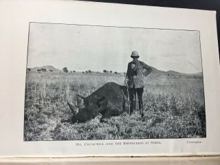 Winston S.  Churchill - My African Journey.  Toronto,  Briggs,  1909 Canadian First. 6