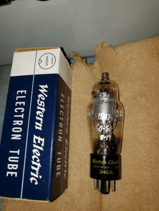 Western Electric 348a Vacuum Tubes 2/pair