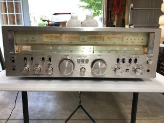 Sansui G - 8000 Full Power Stereo Receiver,  Powers On,  Heavy