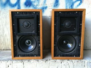 Rogers LS3/5A LOW SERIAL BBC 15 ohm studio monitor speakers 3