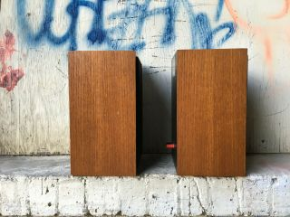 Rogers LS3/5A LOW SERIAL BBC 15 ohm studio monitor speakers 4