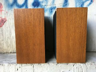Rogers LS3/5A LOW SERIAL BBC 15 ohm studio monitor speakers 5
