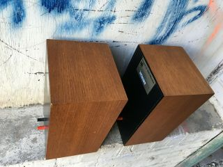 Rogers LS3/5A LOW SERIAL BBC 15 ohm studio monitor speakers 6