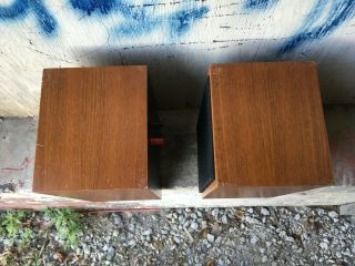 Rogers LS3/5A LOW SERIAL BBC 15 ohm studio monitor speakers 7