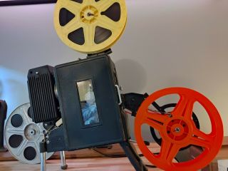 35mm Portable Motion Picture Projector.