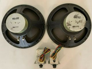 "Altec Lansng / 416 - 16z 15 "" Woofers / N800 - F X - Overs / 806a Drivers W 32b Horns"