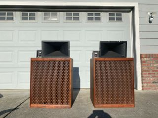 Altec Speaker Horns - Pair In
