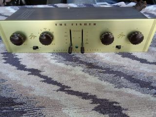 Fisher 50 - C - 3 Preamp