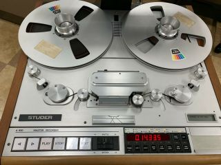 STUDER A820 Professional Tape Recorder 3