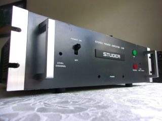 Studer A 68 Stereo Power Amplifier Perfect