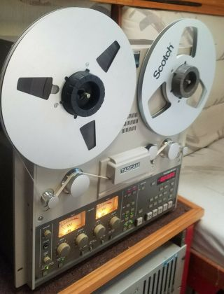 "Teac Tascam Br - 20t 2 Channel Reel To Reel 1/4 "" Tape Recorder"