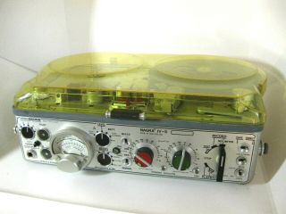 Nagra Iv - S Stereo Reel To Reel Portable Deck Deck
