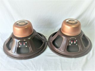 Vintange Jensen Imperial Rp - 100 P15ll Woofers Matched Pair Owner