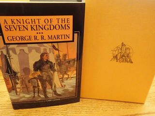 GEORGE RR MARTIN SIGNED LIMITED MATCHING SET 140 PLUS A KNIGHT OF 7 KINGDOMS 11