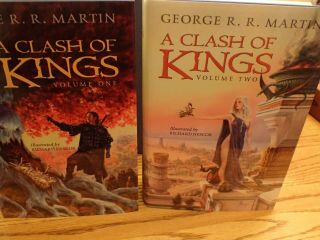 GEORGE RR MARTIN SIGNED LIMITED MATCHING SET 140 PLUS A KNIGHT OF 7 KINGDOMS 3