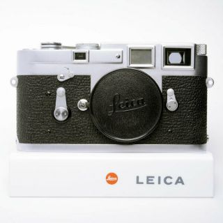 Ex,  Leica M3 Leica M3 35mm Rangefinder Film Camera Ss Single Stroke 1959