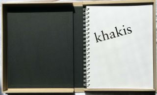Robert Heinecken: Wore Khakis.  SIGNED LIMITED EDITION Photobook,  only 20 copies 2
