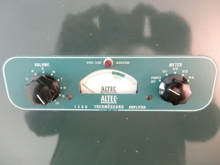 Altec Lansing 128 - B Power Amp tube Matched Pair EL34 6CA7 Audio Stereo R to R 8