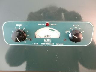 Altec Lansing 128 - B Power Amp tube Matched Pair EL34 6CA7 Audio Stereo R to R 9