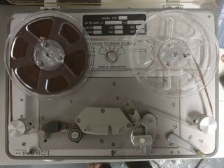 Nagra Iv - D Portable Tape Recorder Reel To Reel Field Recorder