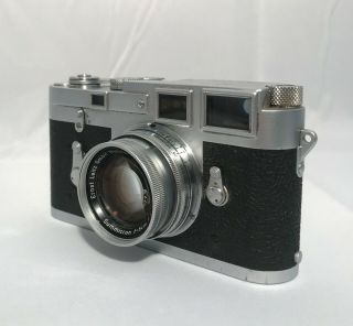 LEICA M3 RANGEFINDER FILM CAMERA W/ SUMMICRON 50MM F2 LENS 3
