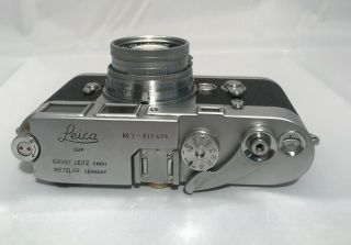 LEICA M3 RANGEFINDER FILM CAMERA W/ SUMMICRON 50MM F2 LENS 6