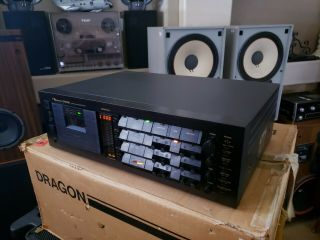Nakamichi Dragon Cassette Deck W/ Box - Perfect Performance/looks