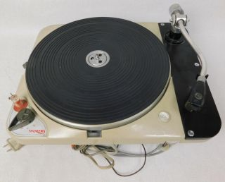 Thorens Switzerland Console Turntable Record Player Td124 121 ?