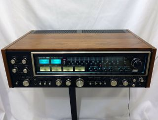 Sansui Qrx - 999 Qrx - 9001 Quad / Stereo Receiver.  Fully Serviced