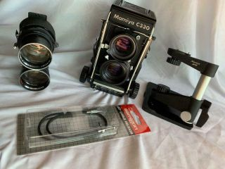 Mamiya C330 Professional S Twin Lens Reflex Camera (film) With 2 Twin Lenses