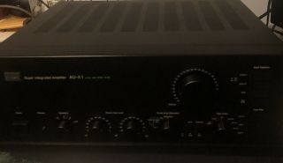 Sansui Au - X1 And Tu - X1 Tuner With Am Stereo Decoder