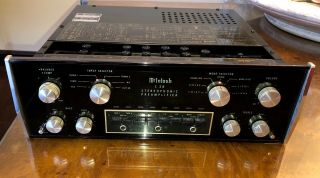 Wow Mcintosh C28 Stereo Preamplifier Ca.  1970